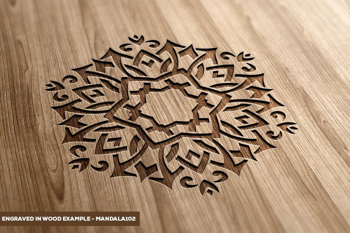 500 Vector Mandala Ornaments example image 31