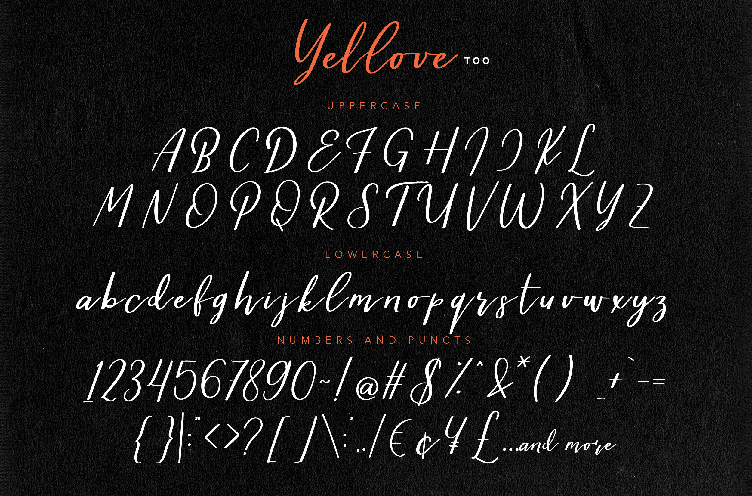 Yellove Duo - Fun Casual Handwriting example image 10