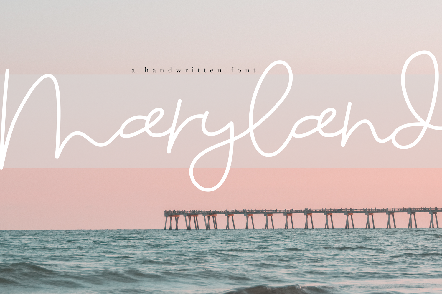 Maryland - A Fun Script Font example image 1