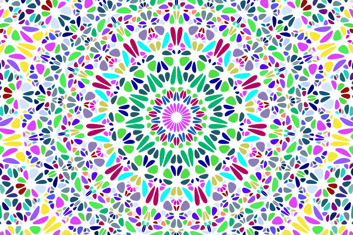 48 Floral Mandala Backgrounds example image 15