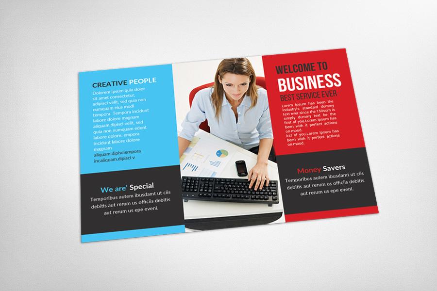 Multipurpose Business Postcard Template example image 3