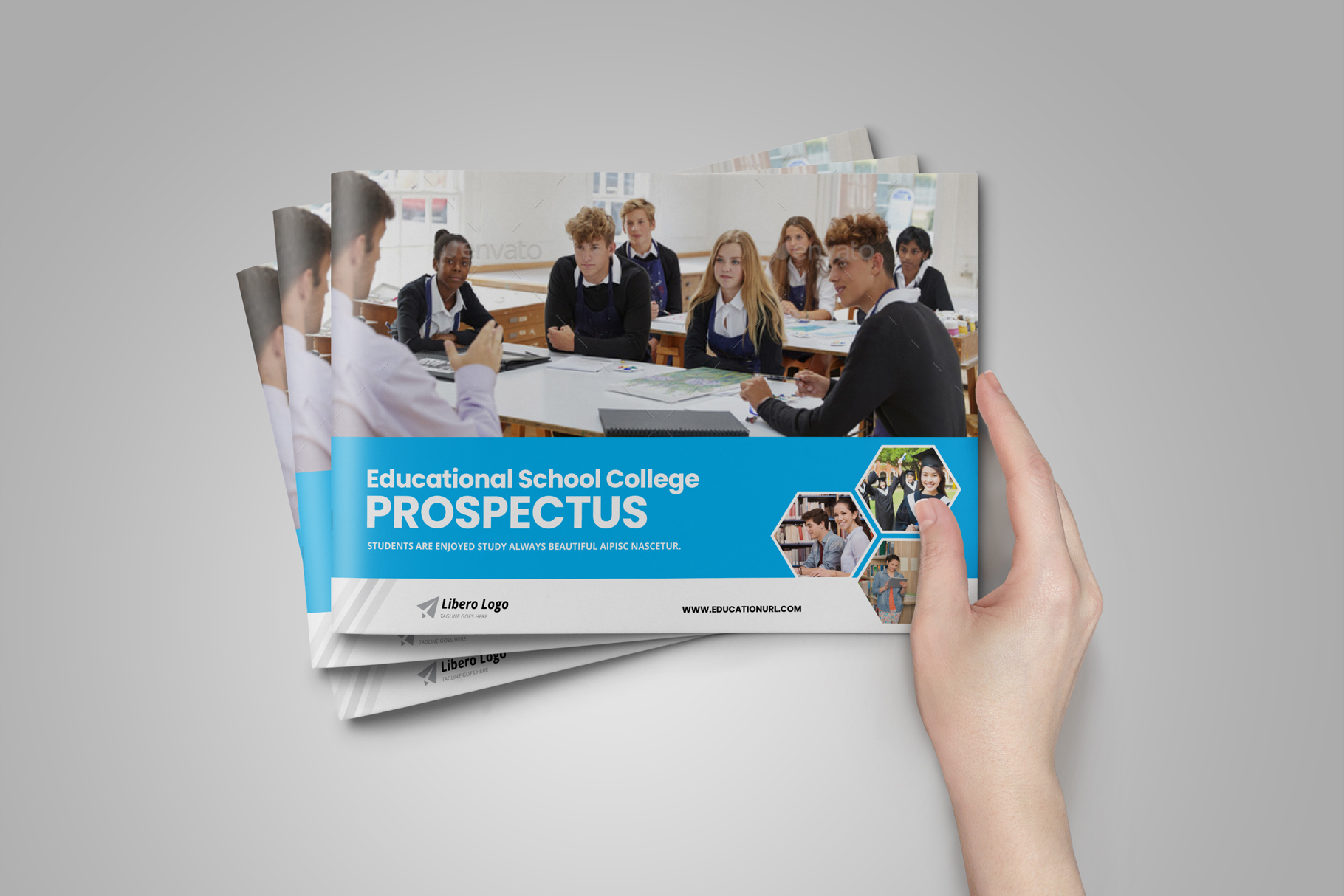 Education Prospectus Brochure v6 example image 12