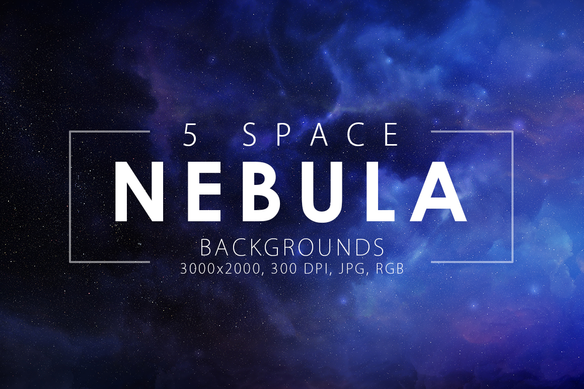 5 Realistic Nebula Backgrounds example image 1