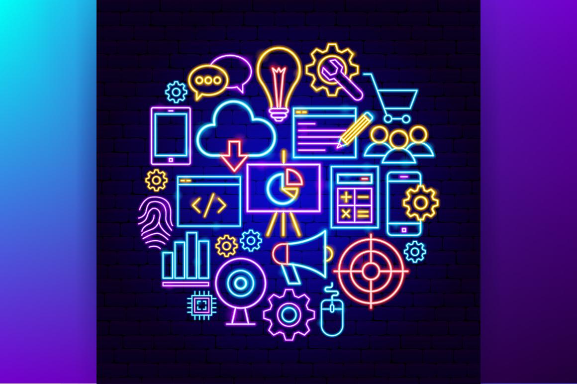 Web Development Neon example image 5