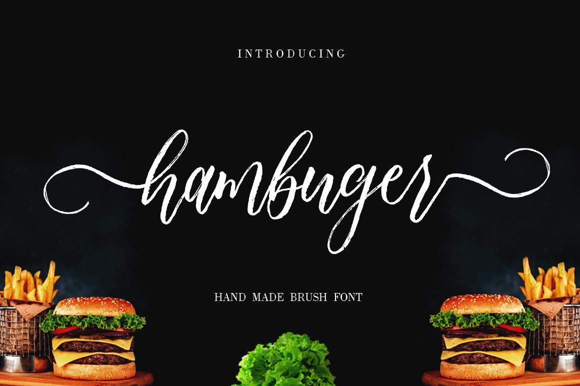 Hambuger example image 1
