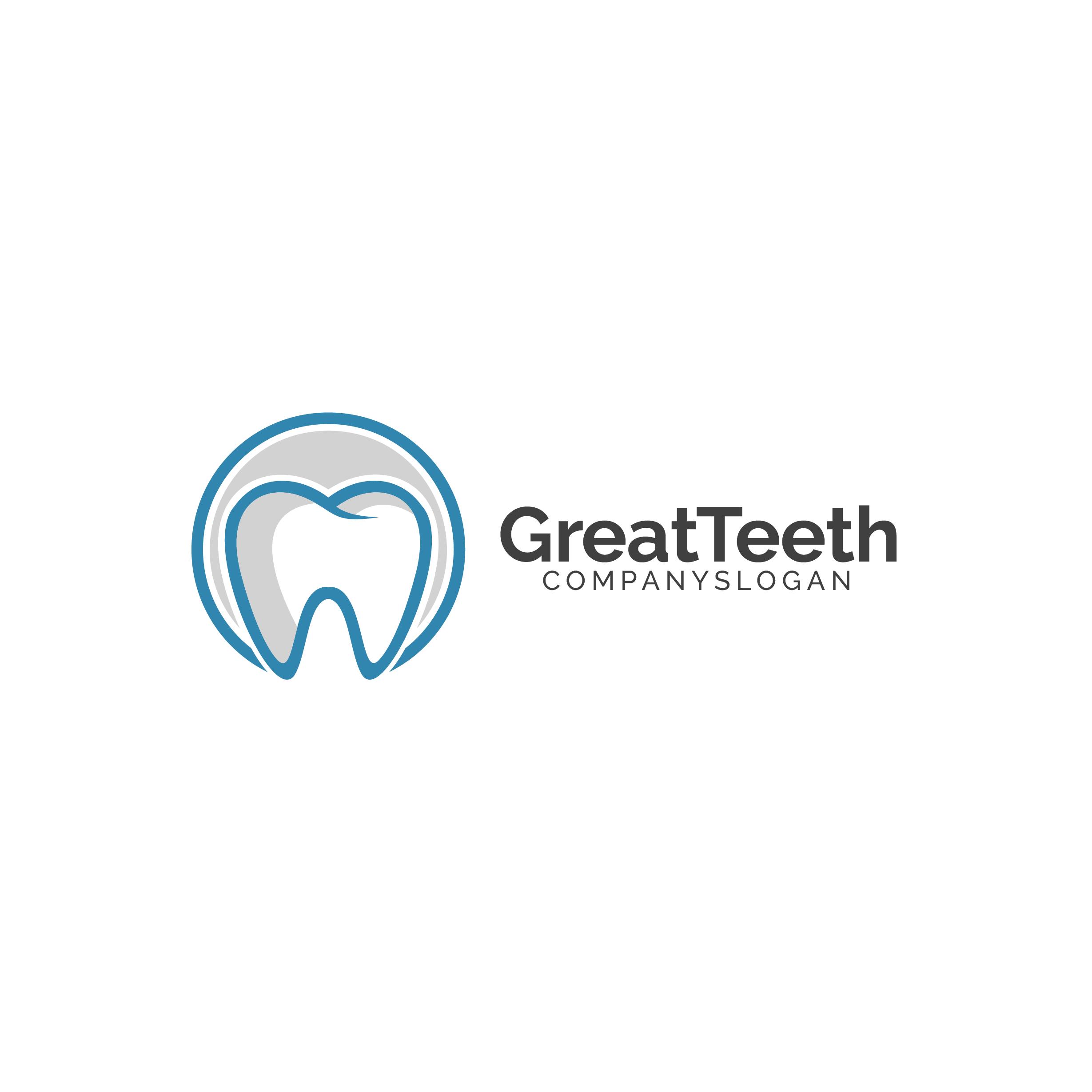 Great Teeth Dental Logo example image 6