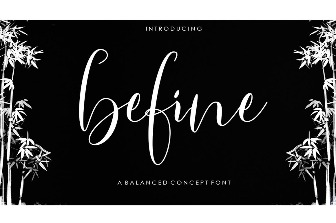 Befine Script example image 1