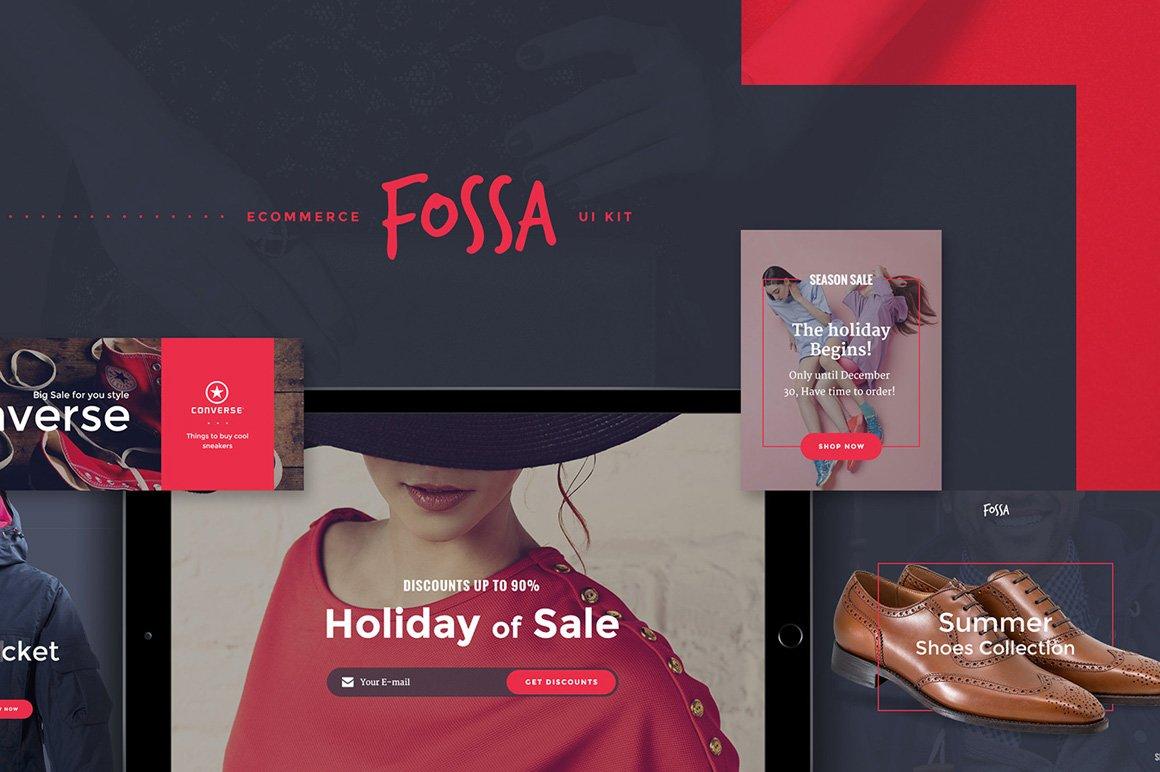 Fossa Ecommerce UI Kit example image 1
