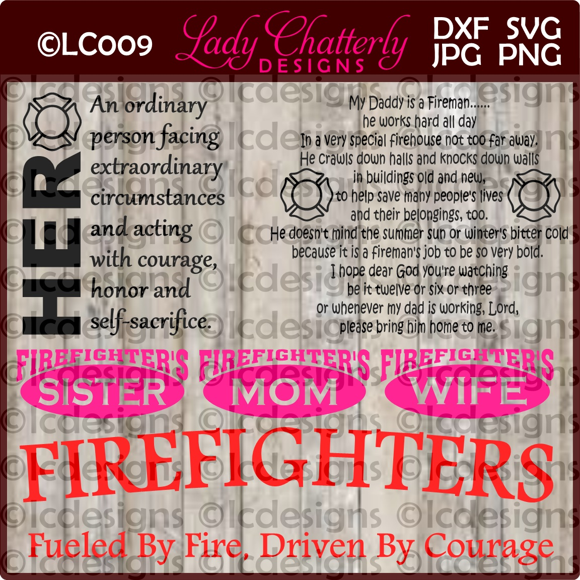 LC009 Firefighter example image 1
