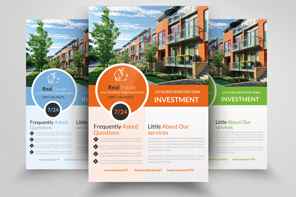 6 Real Estate Agency Flyers Bundle example image 7