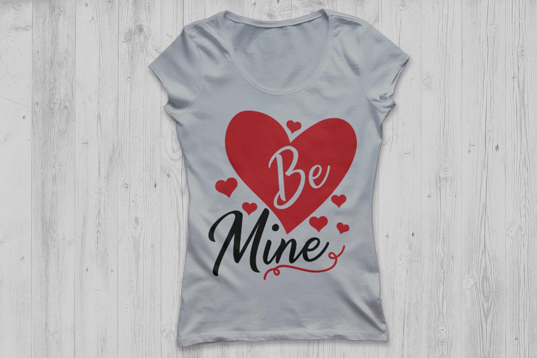 be mine svg, valentine's day svg, valentine svg, love svg. example image 3