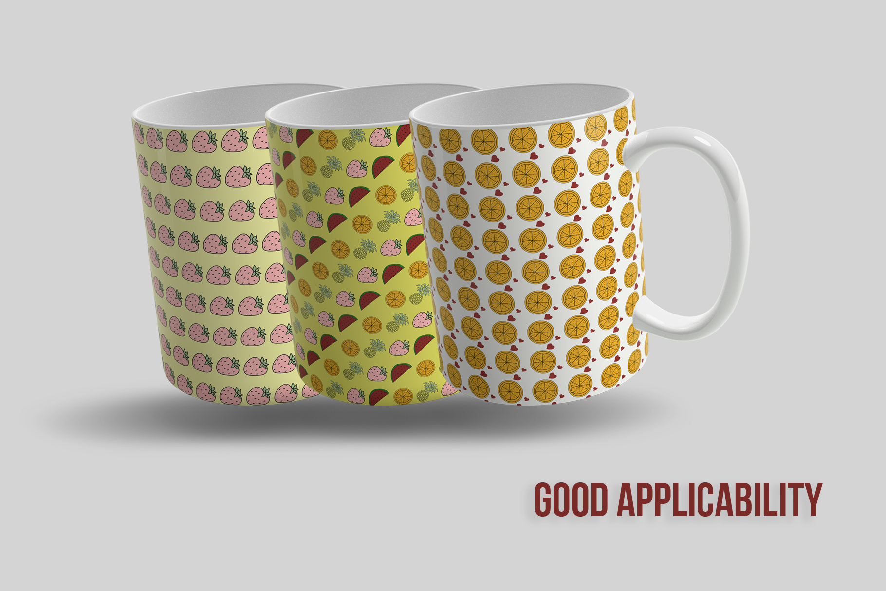 10 Fruit Patterns example image 5