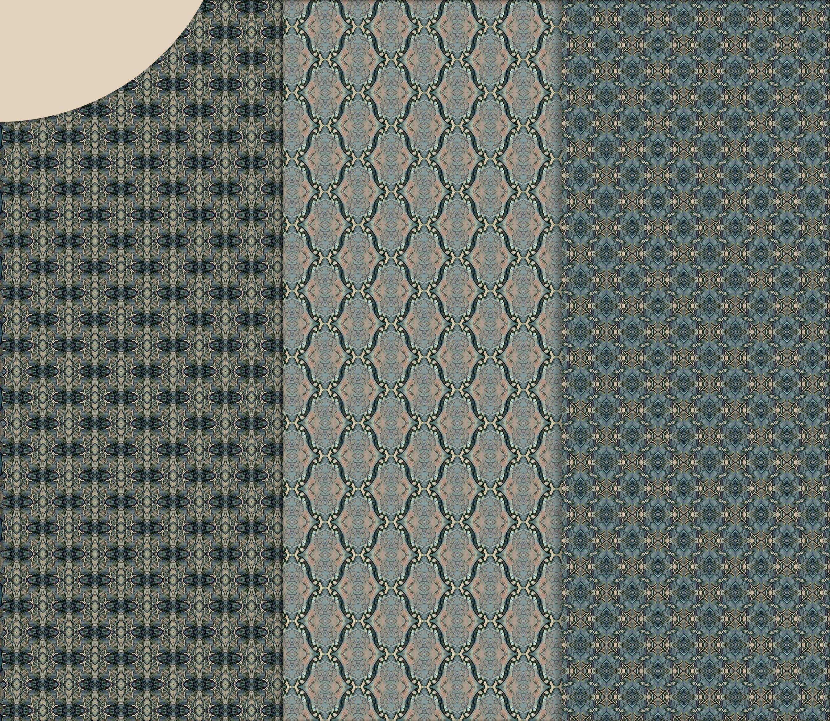 Old vintage blue-beige masculine Scrapbook Paper example image 5