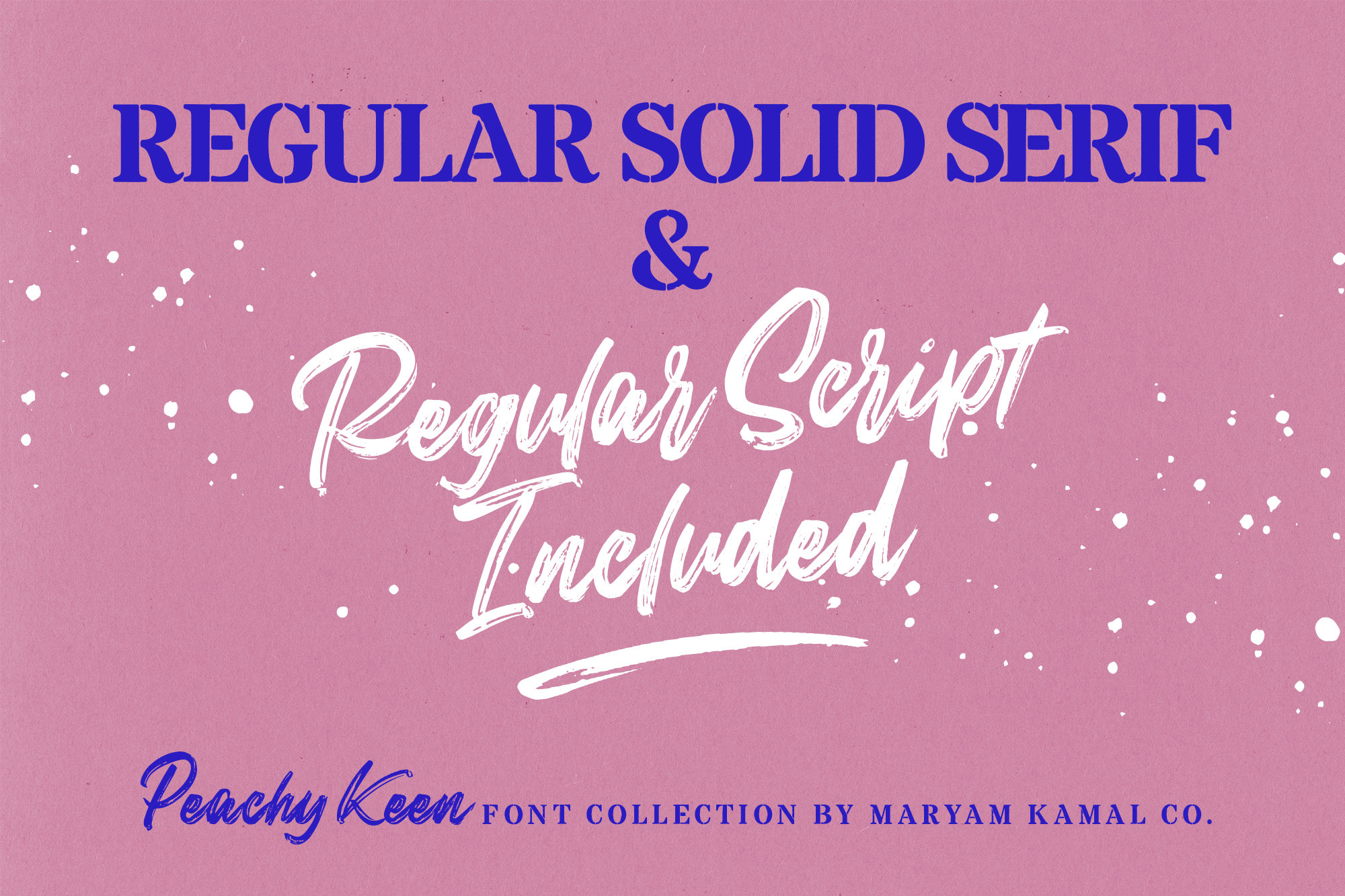 Peachy Keen Font Collection example image 7