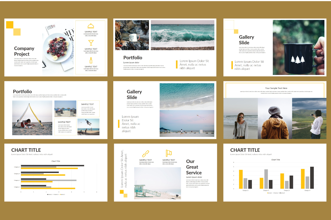 Cube Powerpoint Template example image 3