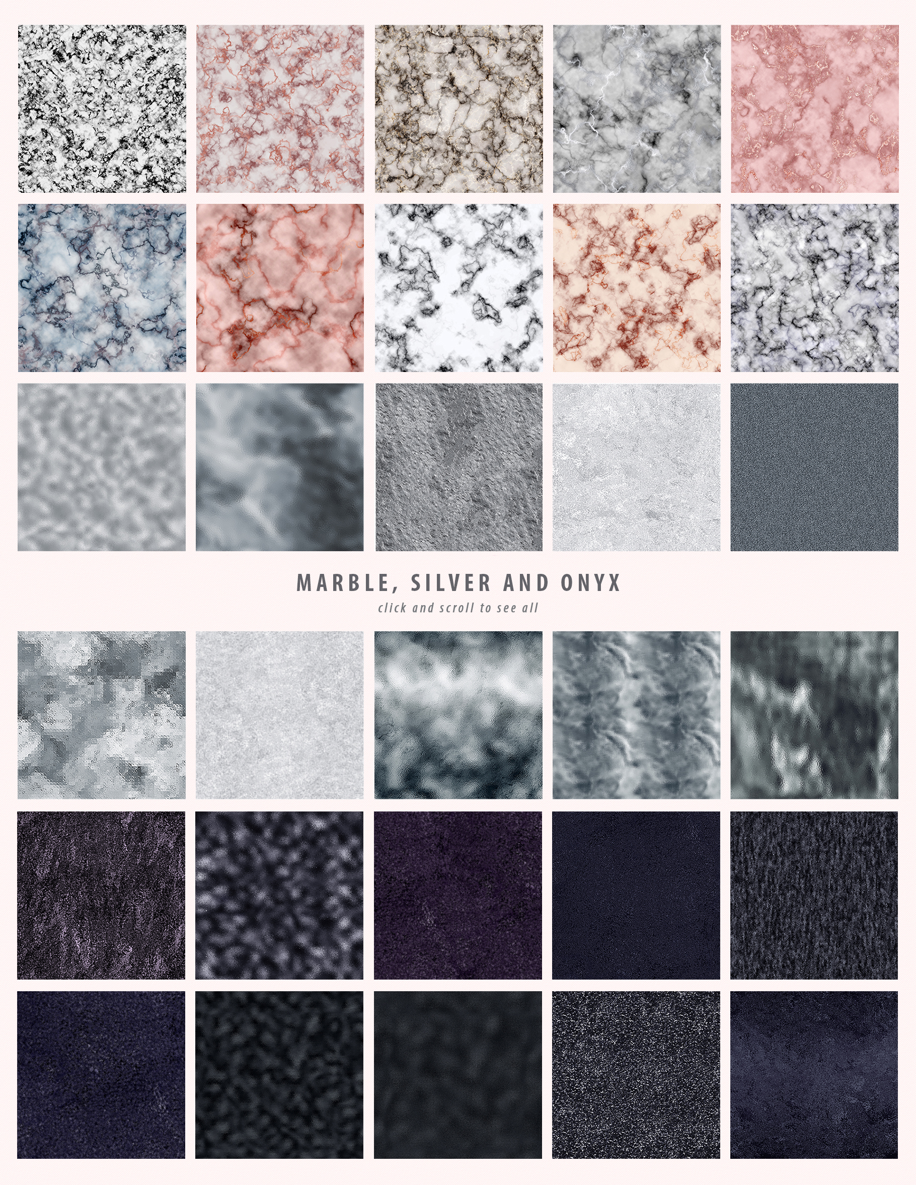 Luxe - 200 Textures and Patterns - Foil, Glitter, Marble example image 23