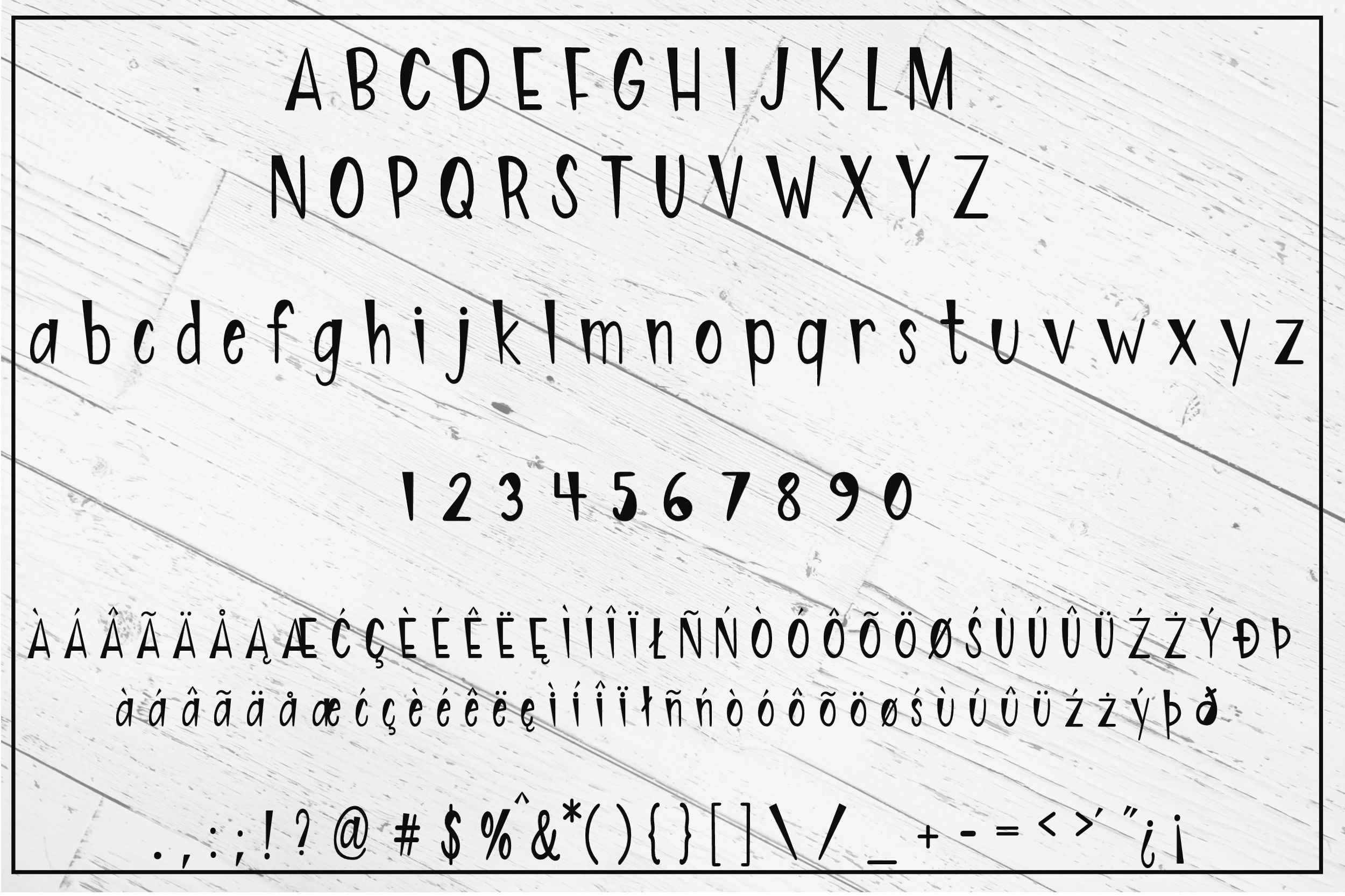 Artistically Inclined - Hand drawn print font example image 2