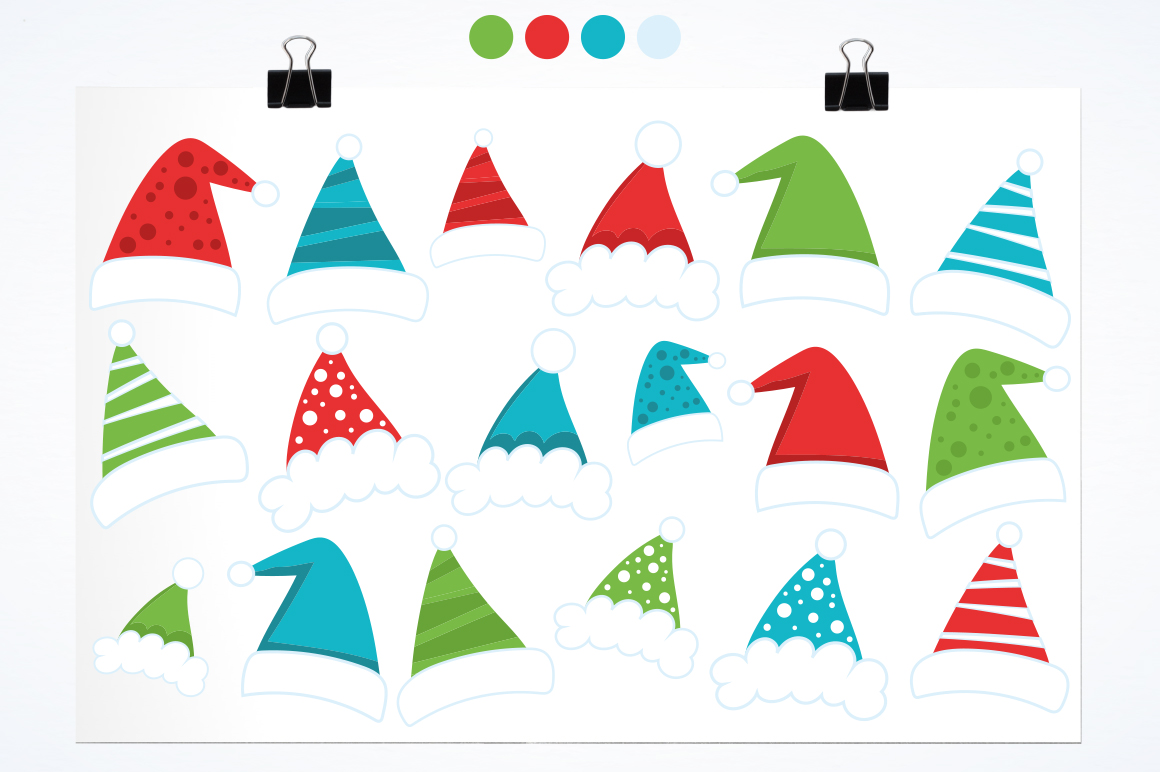 Christmas Hat graphic and illustrations example image 2