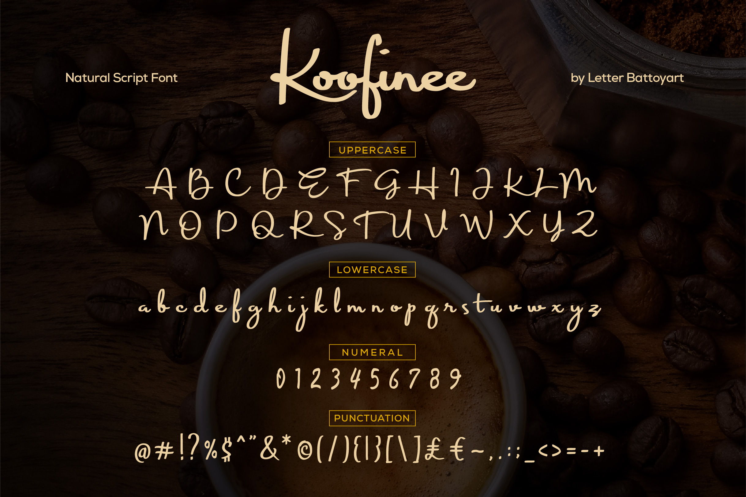 Koofinee Natural Script Font example image 4