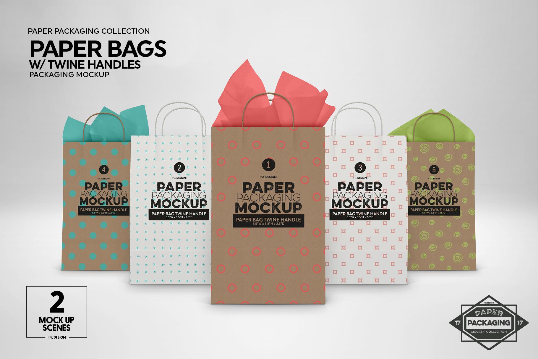 VOL. 17 Paper Box Packaging Mockups example image 5