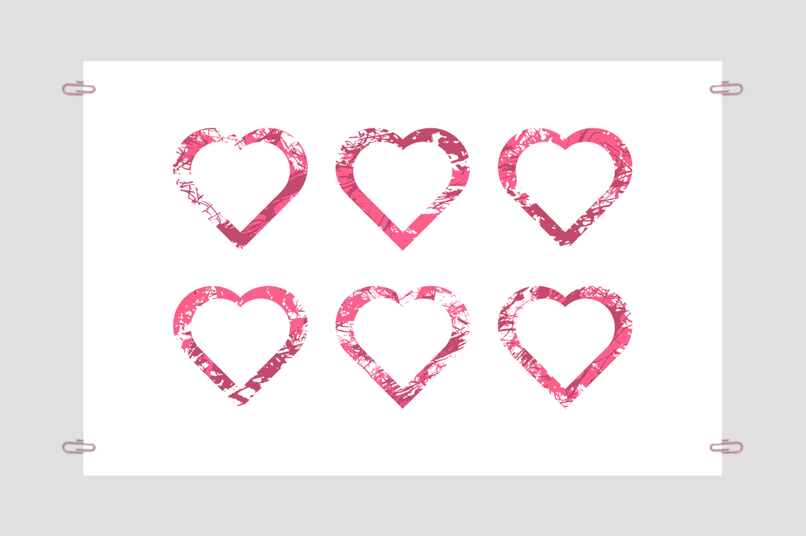 Collection Hearts example image 3