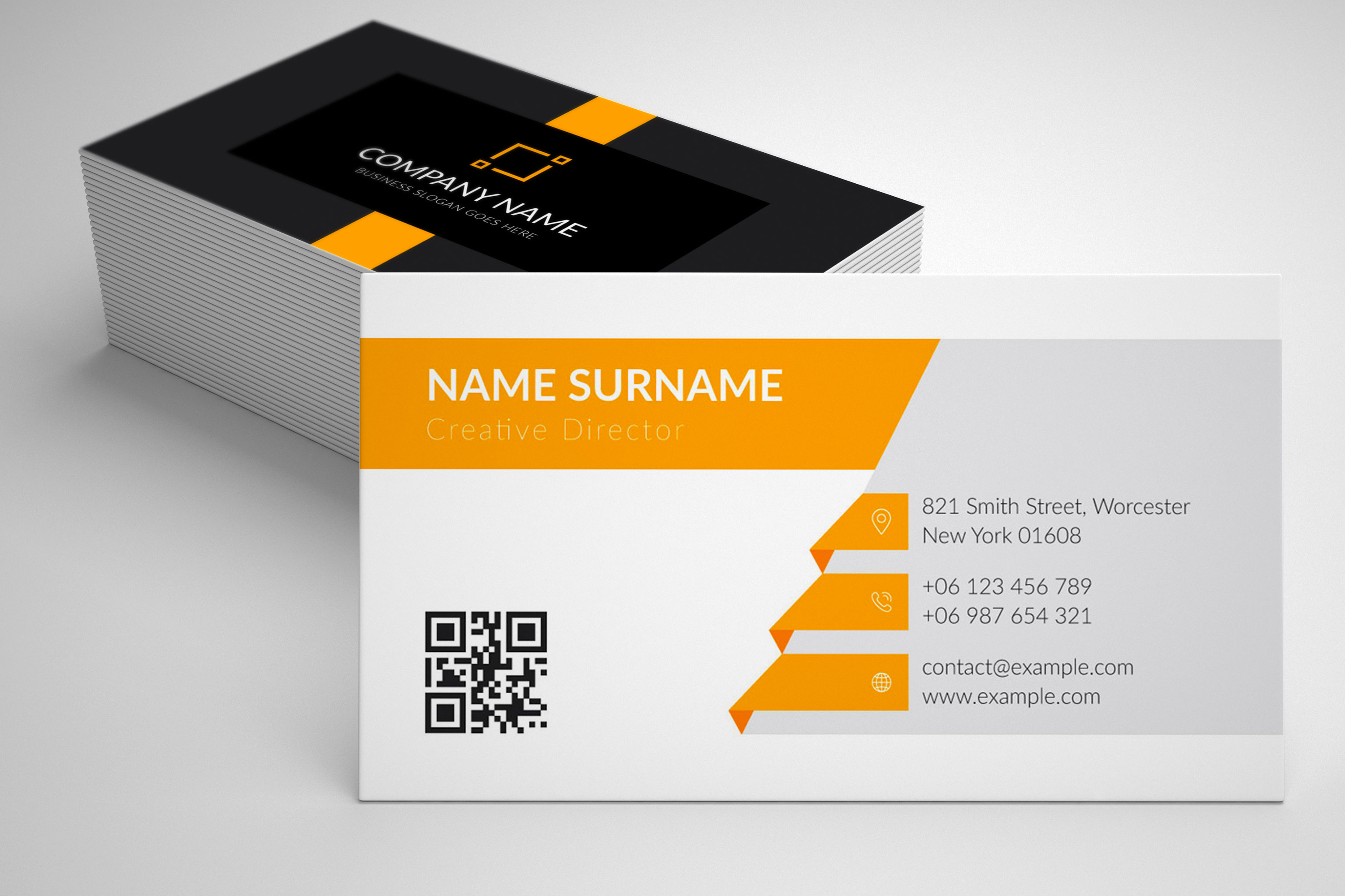 Modern and Elegant Business Card Design example image 6
