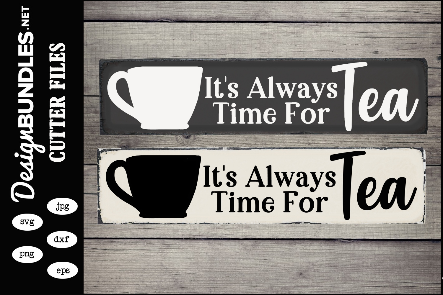 Tea Time SVG example image 1
