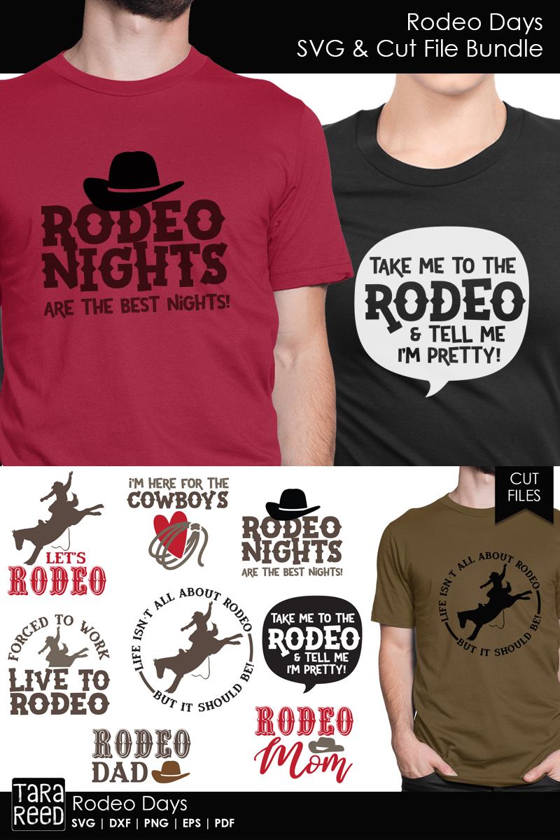 Rodeo Days - Rodeo SVG and Cut Files for Crafters example image 3