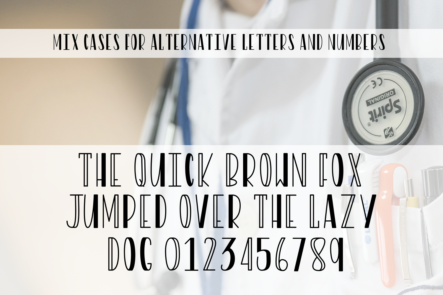 Rounds - A Nurse Font With Extras example image 2
