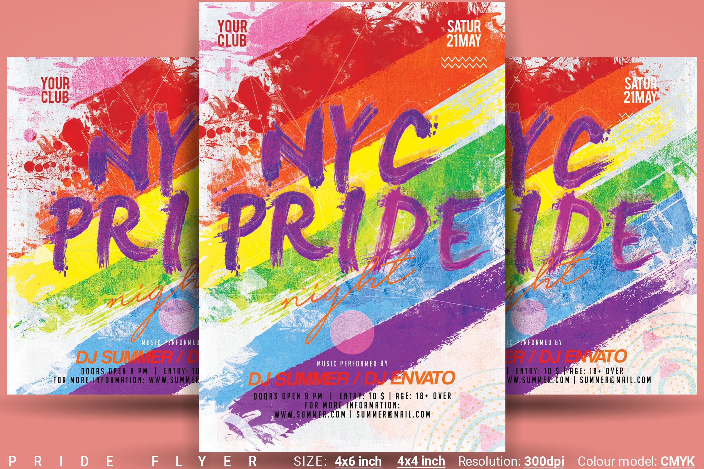 Pride Flyer example image 1