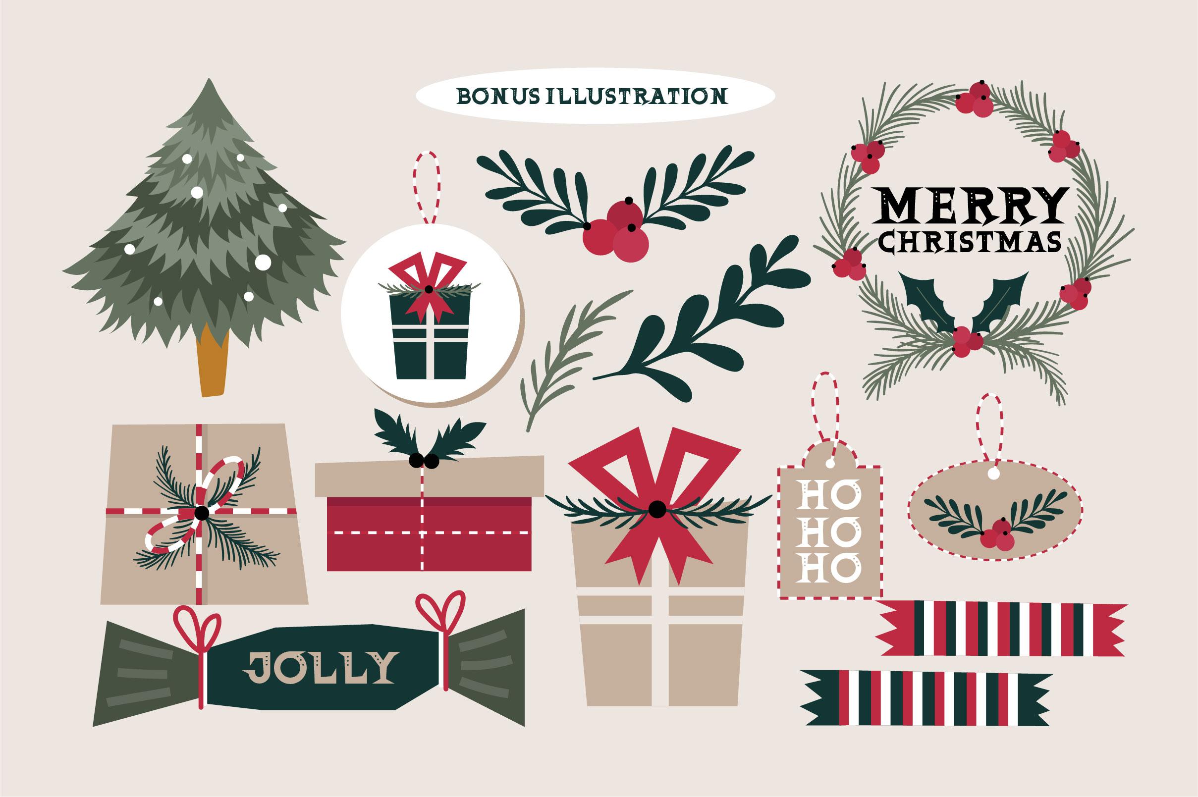 Christmas Glee example image 3