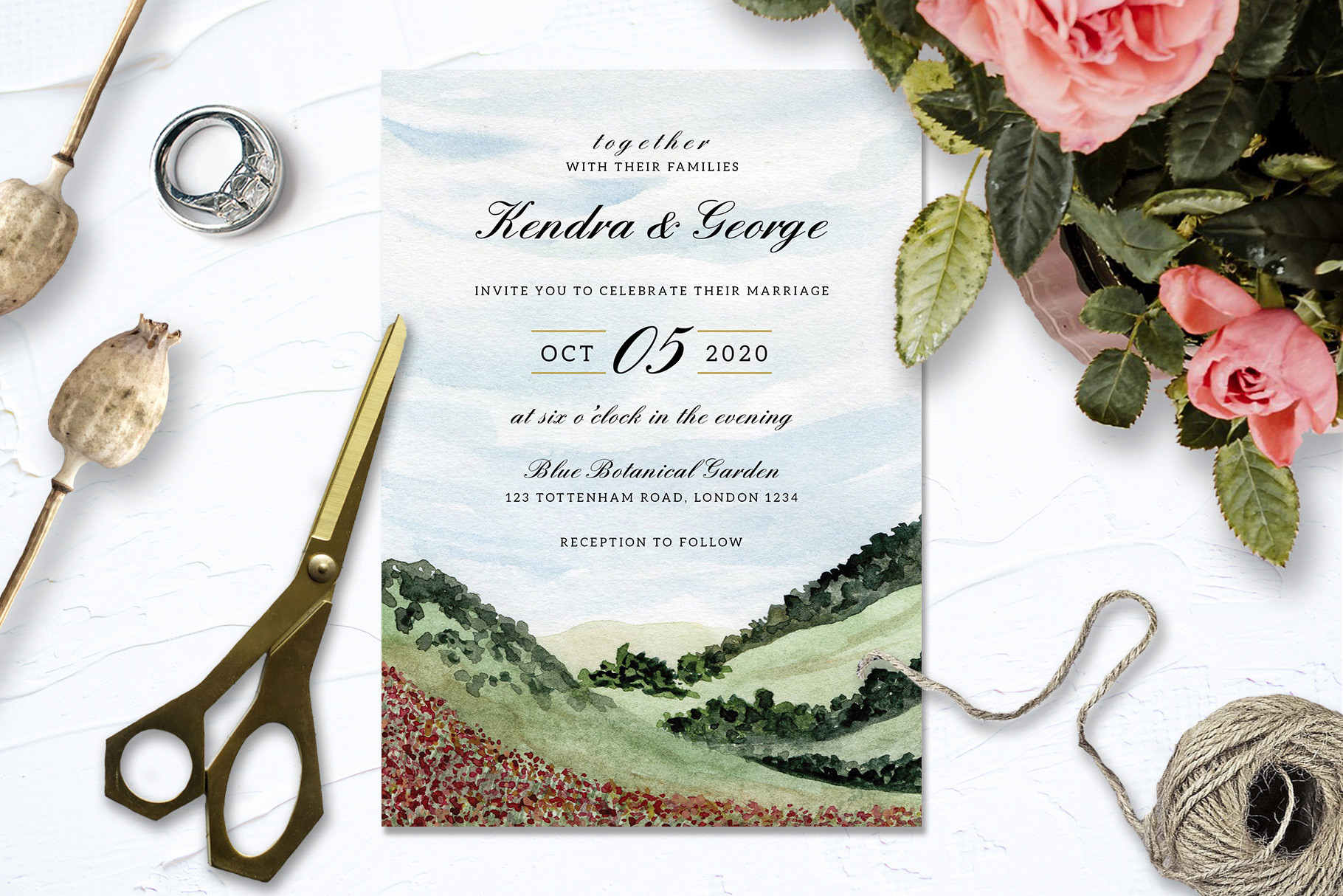 Landscape Wedding Collection example image 3