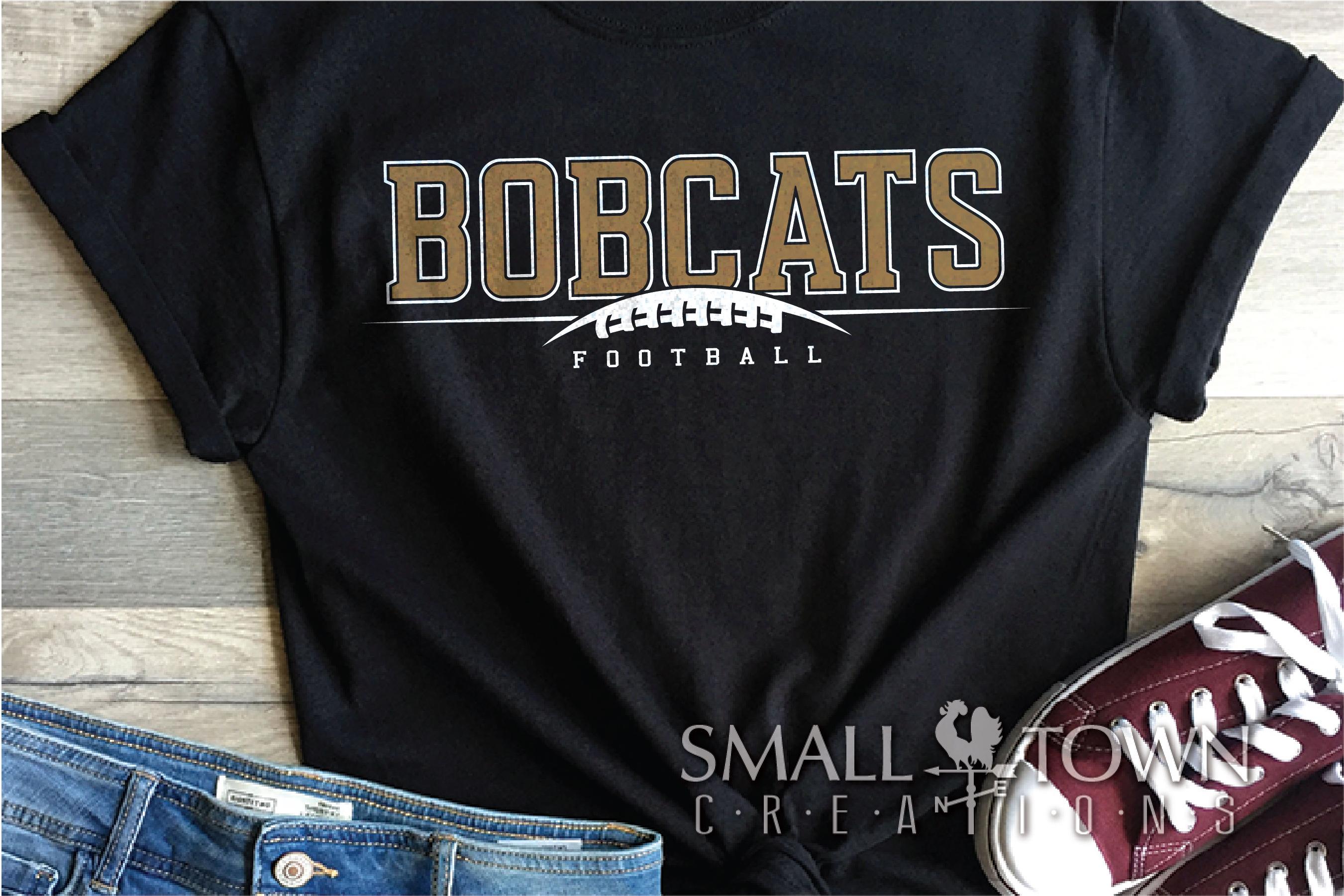 Bobcat football, Football, Sport, Team, PRINT, CUT & DESIGN example image 1