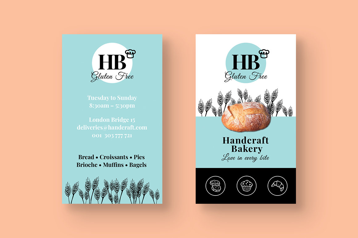 Bakery Business Card example image 2