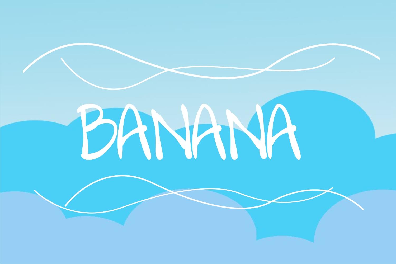 bananafont example image 1