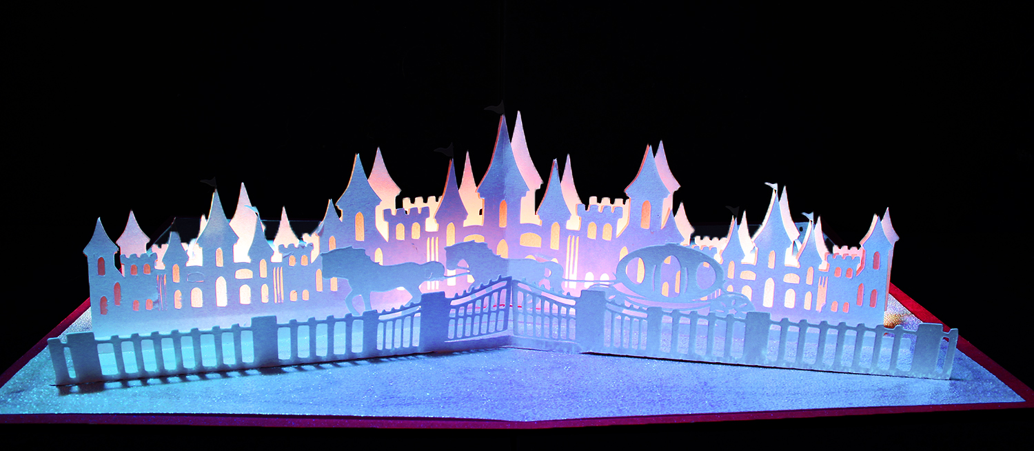 Magical Castle pop up card example image 1