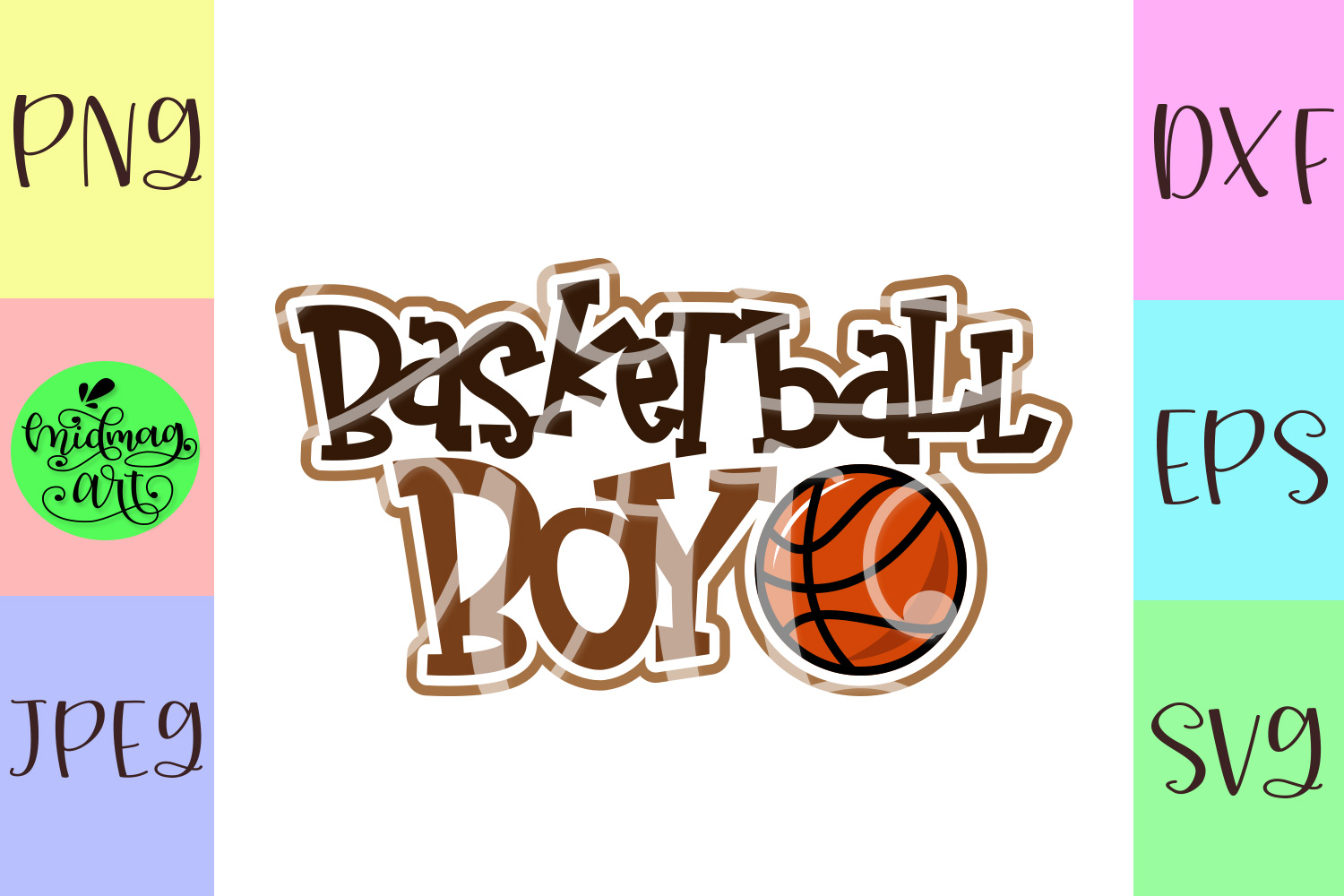 Basketball boy svg, basketball svg example image 2