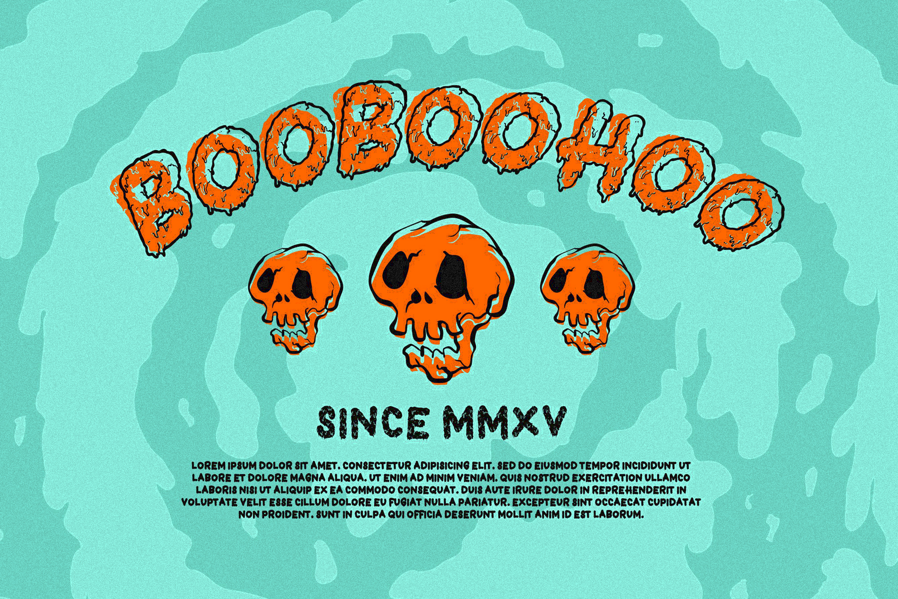 Dead Slime 6 Fonts | Extras 50 Illustrations example image 7