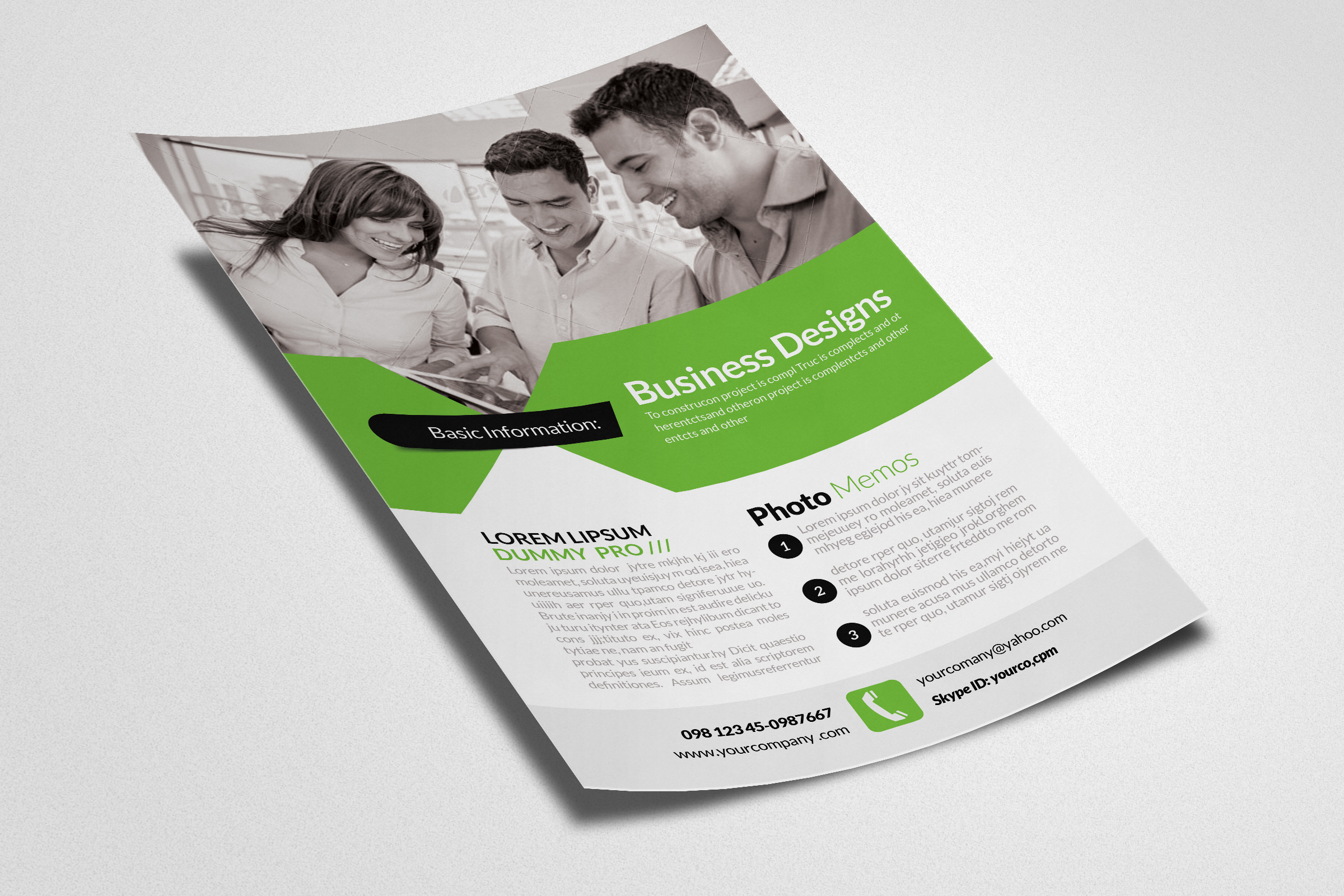 Investment Management Flyers example image 3
