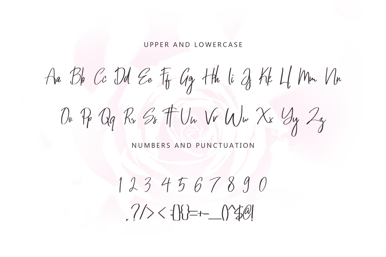 Wonderful March Handwritten Font example image 6