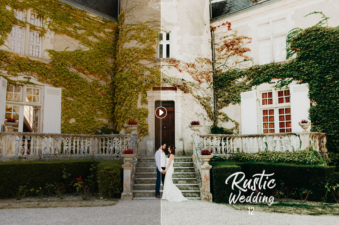 50 Rustic Wedding Presets for Lightroom & ACR example image 10