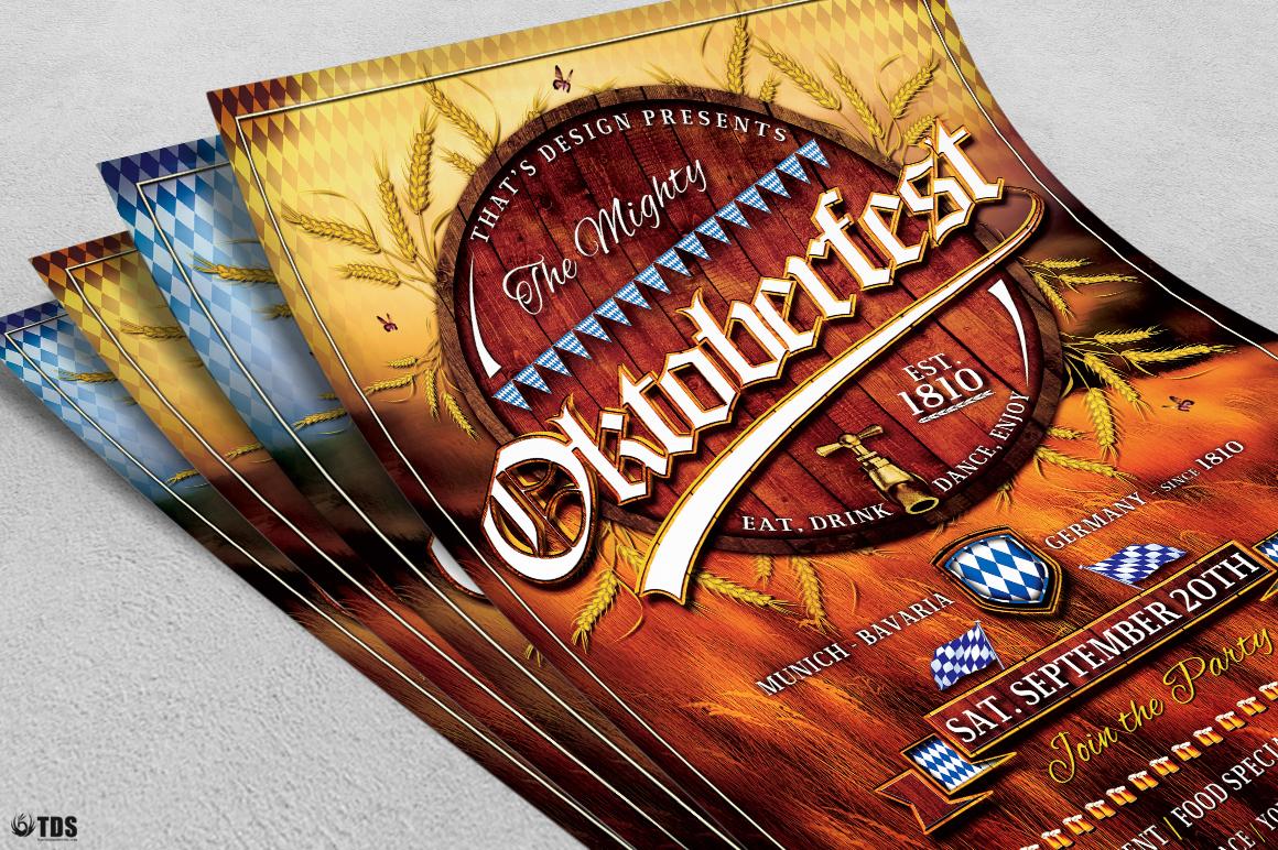 Oktoberfest Flyer Template V2 example image 5