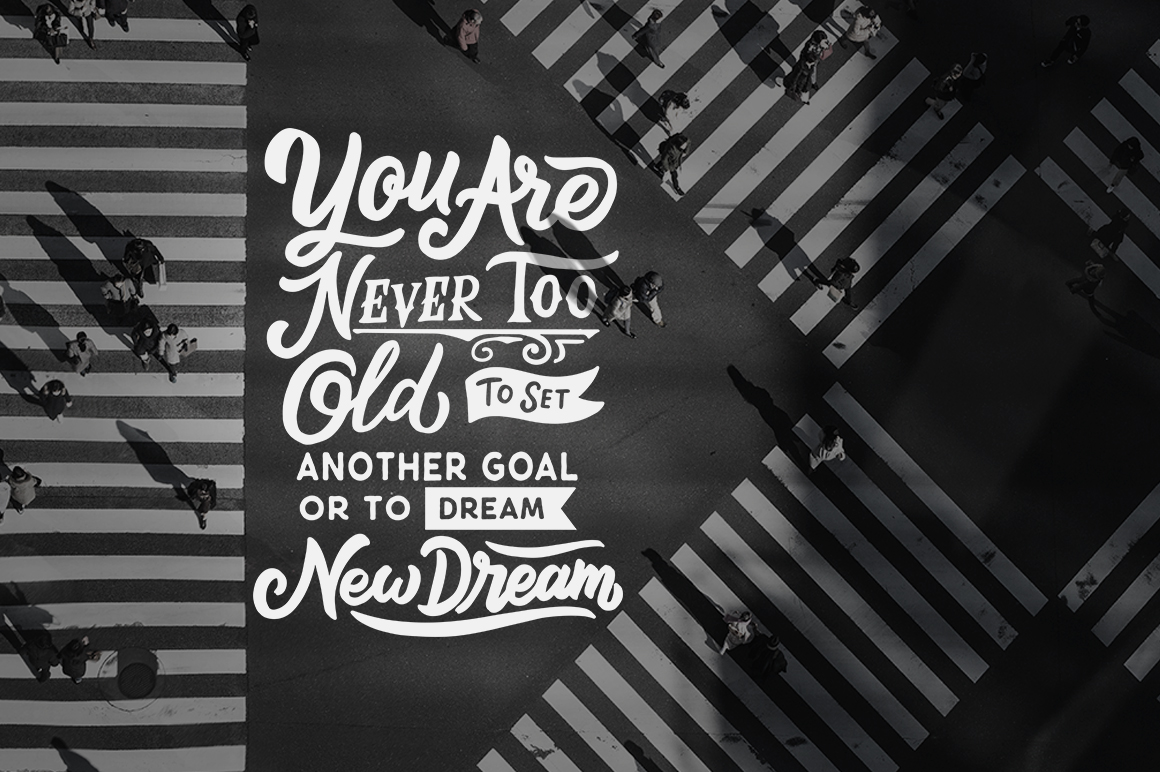 Inspirational Quotes Lettering example image 7