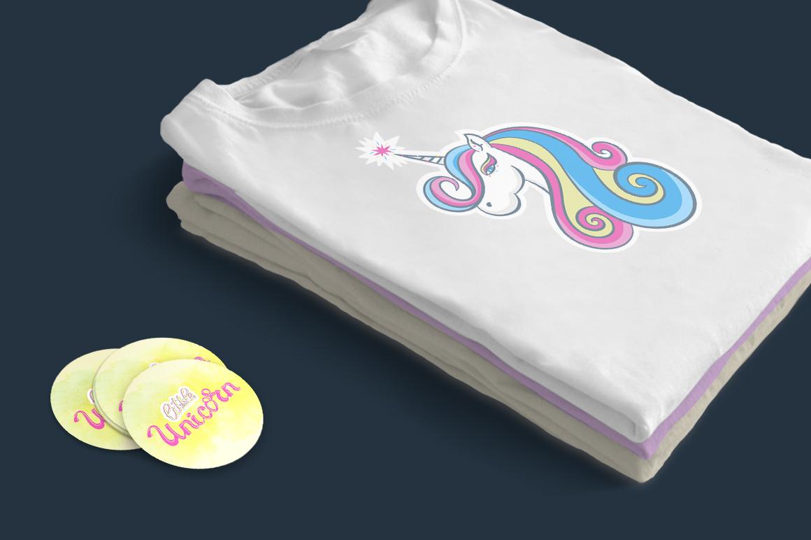 Vector little unicorn example image 3