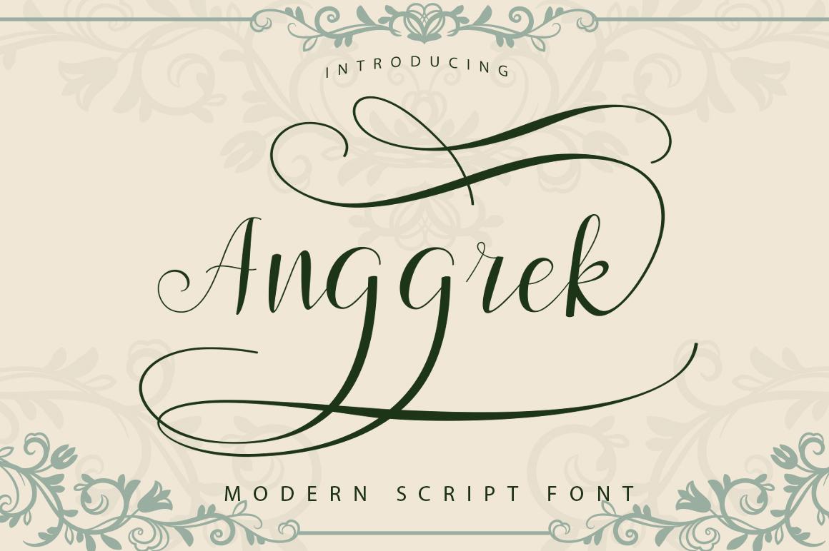 Script Font Bundle example image 9