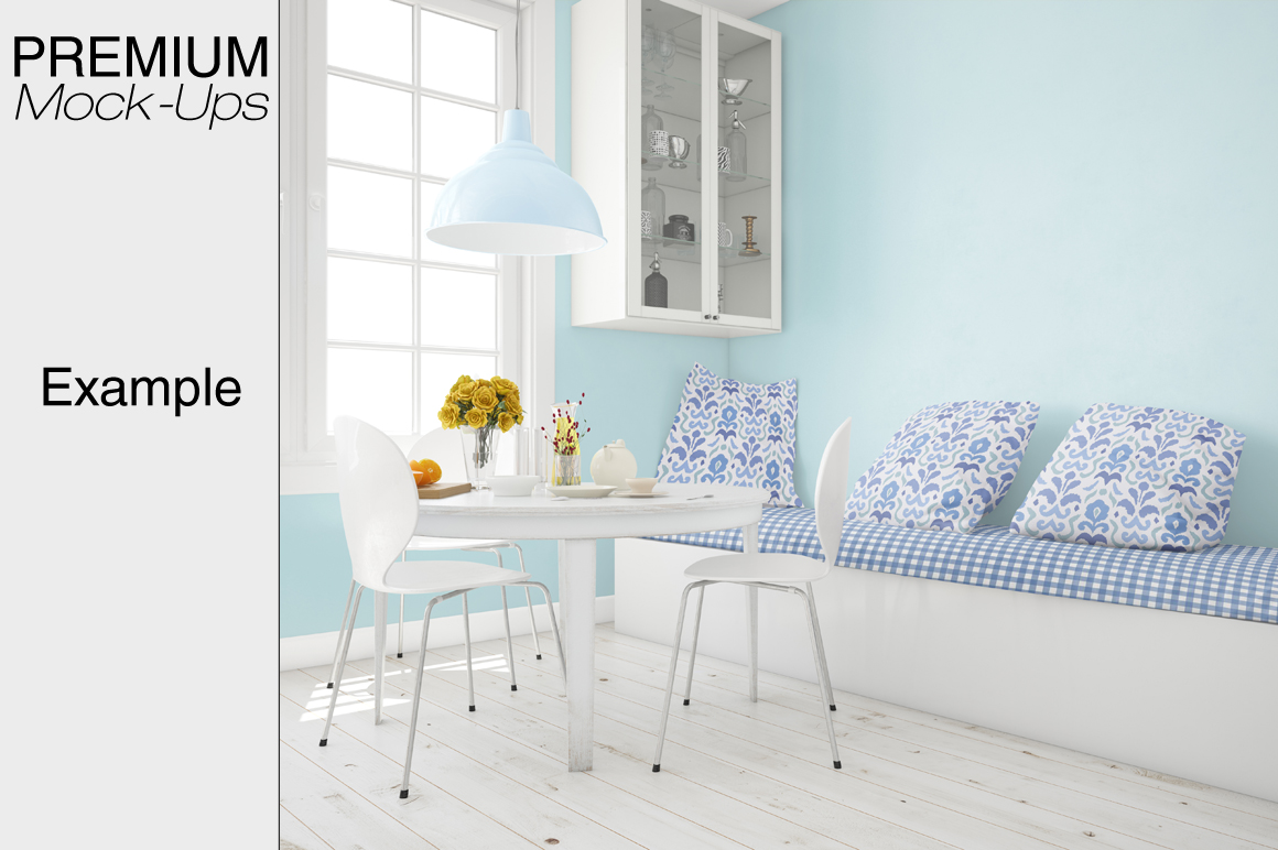 Pillows & Curtains Set - Kitchen example image 10