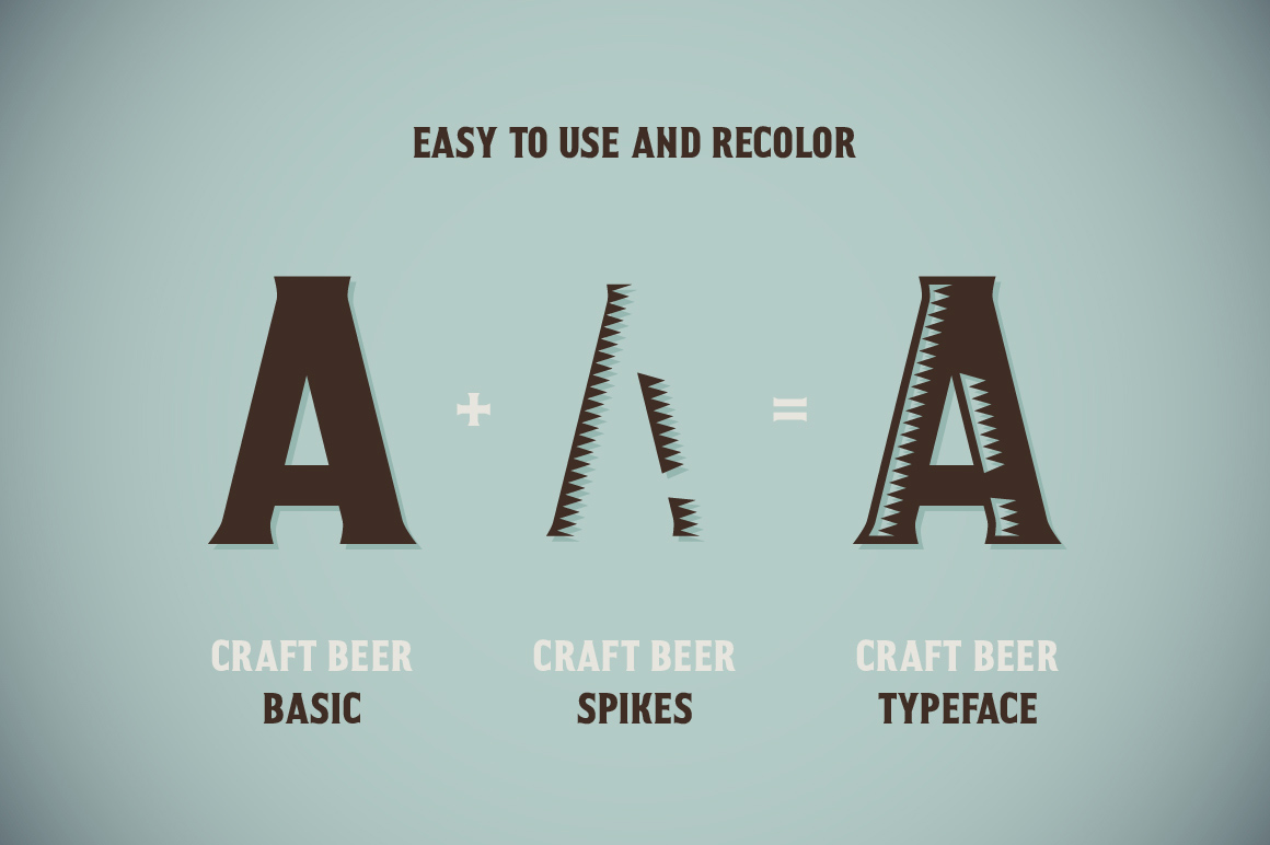 Craft Beer Typeface example image 4
