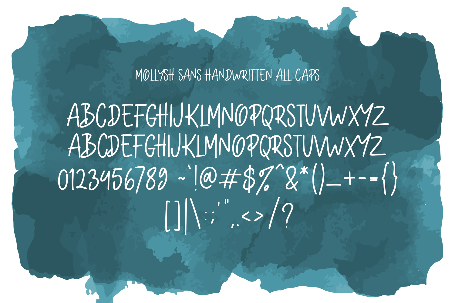 Mollysh Calligraphy Font example image 5