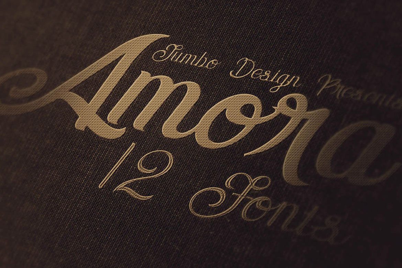 Amora Script example image 4