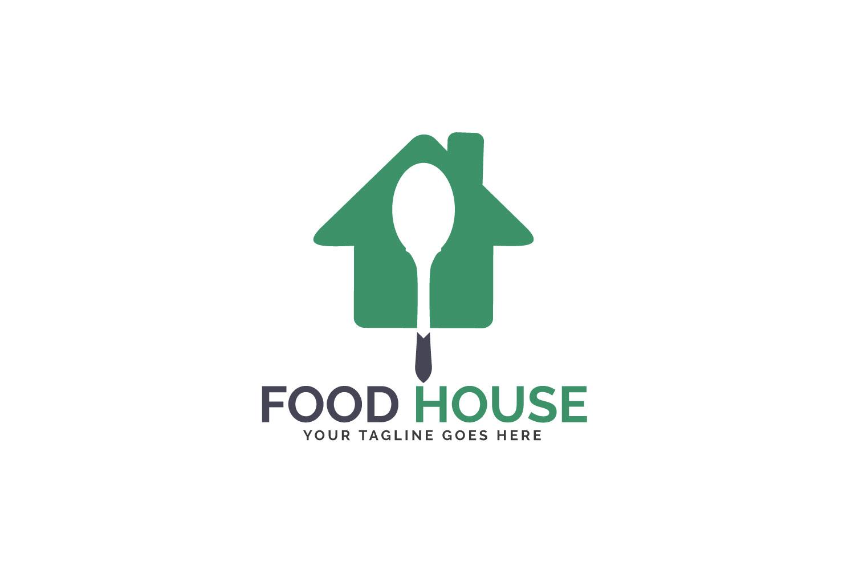 Food House Logo Design. example image 2